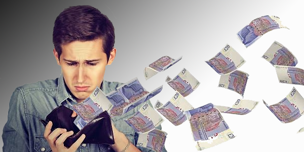 Are you bad with money?  One in ten Brits confess they are.