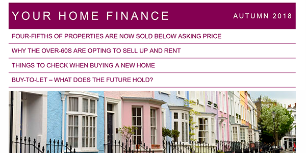 Your Home Finance Autumn 2018